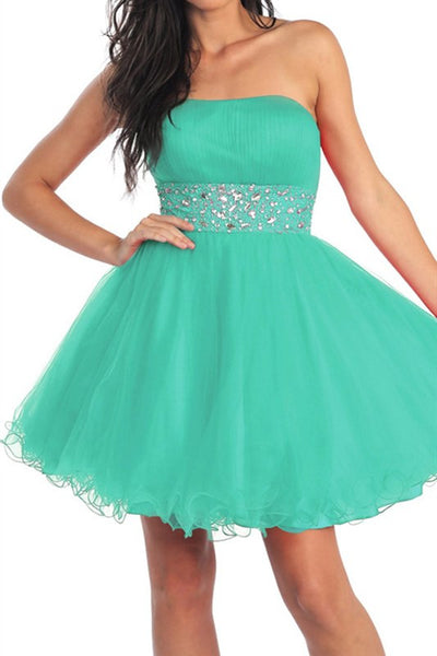 Saturday Soiree Party Dress in Mint