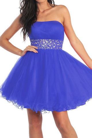 Saturday Soiree Party Dress in Royal Blue