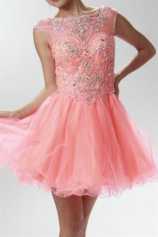 Primrose and Proper Party Dress in Coral