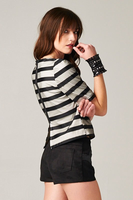 Chicest Stripes Top