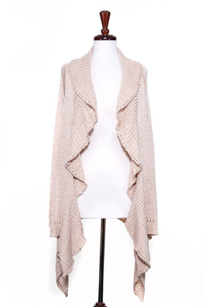 Coffee Date Cardigan in Oatmeal