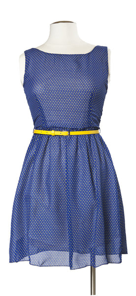 Lemon Dot Dress