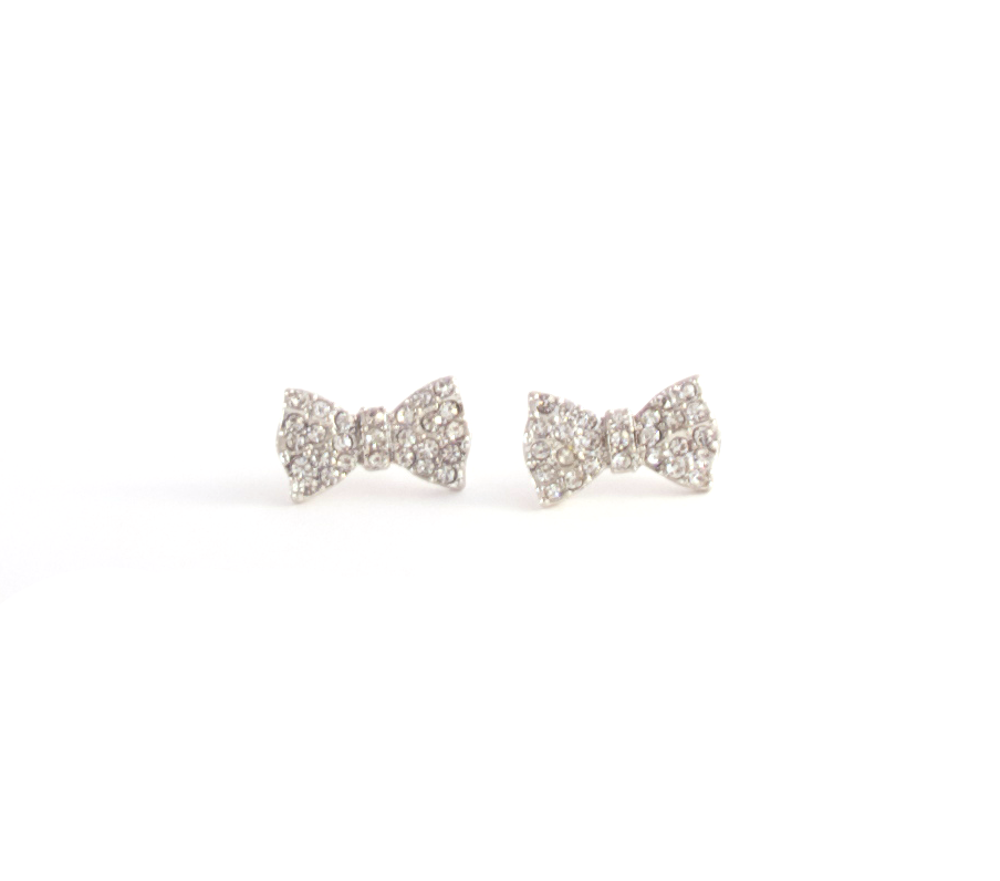 Here and Bow Earrings
