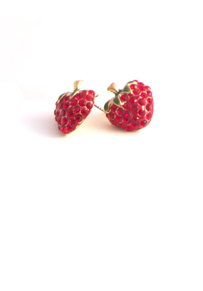 Strawberry Glad to Meet You Earrings
