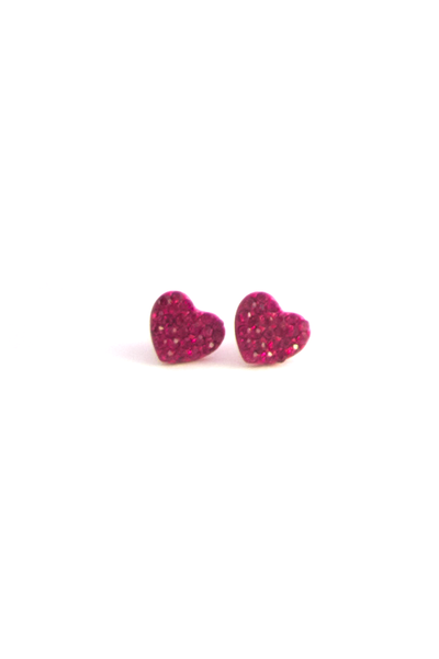Tiniest Heart Earrings