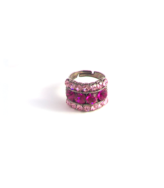 Majestic Magenta Ring
