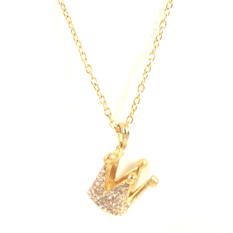 Petit Prince Crown Necklace