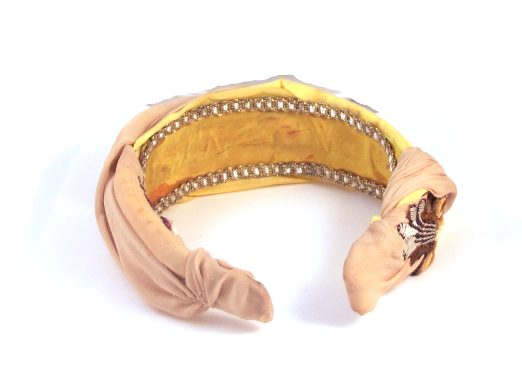 Opulently Ruched Couture Headband