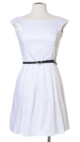 Impressive Introduction Dress in White