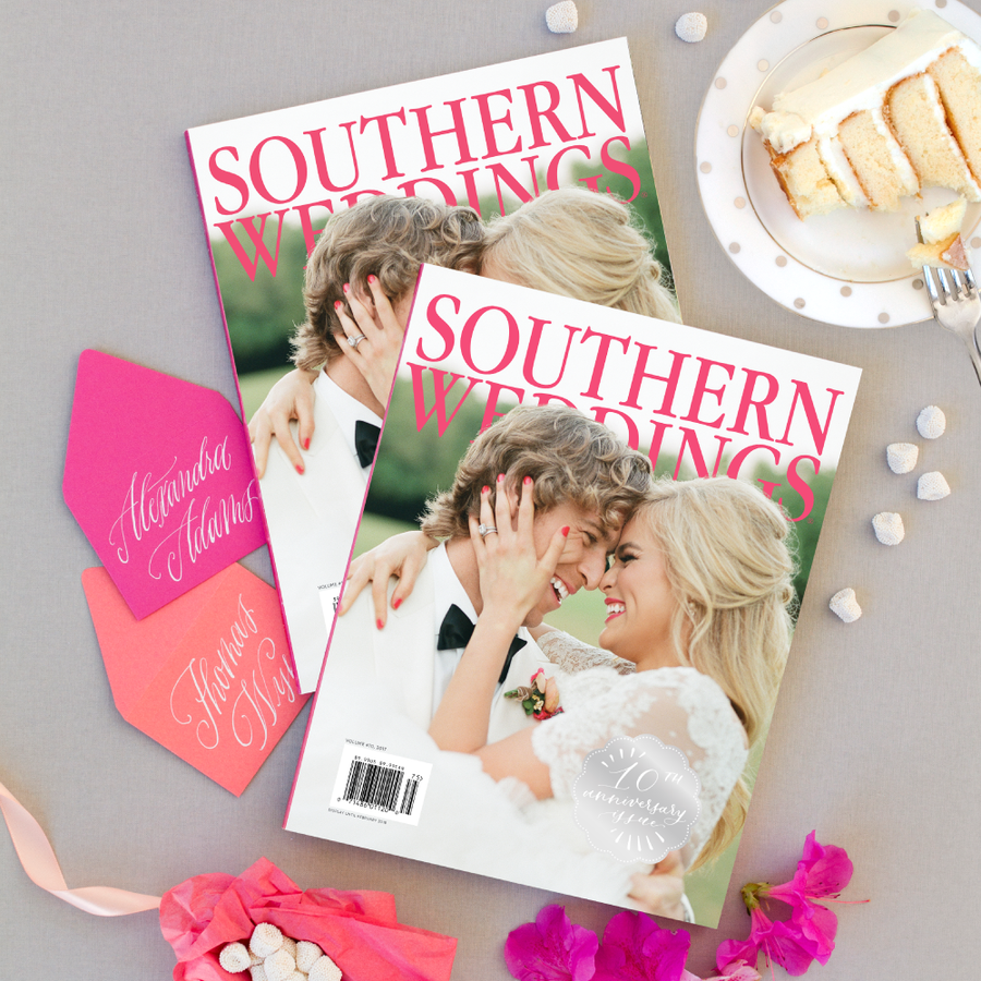 Southern Weddings Tenth-Anniversary Issue: Volume 10