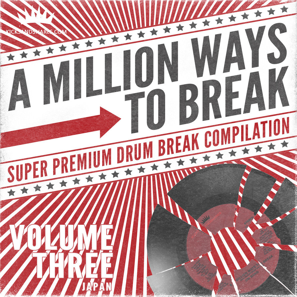 A Million Ways To Break Volume 3 - All Japan Edition