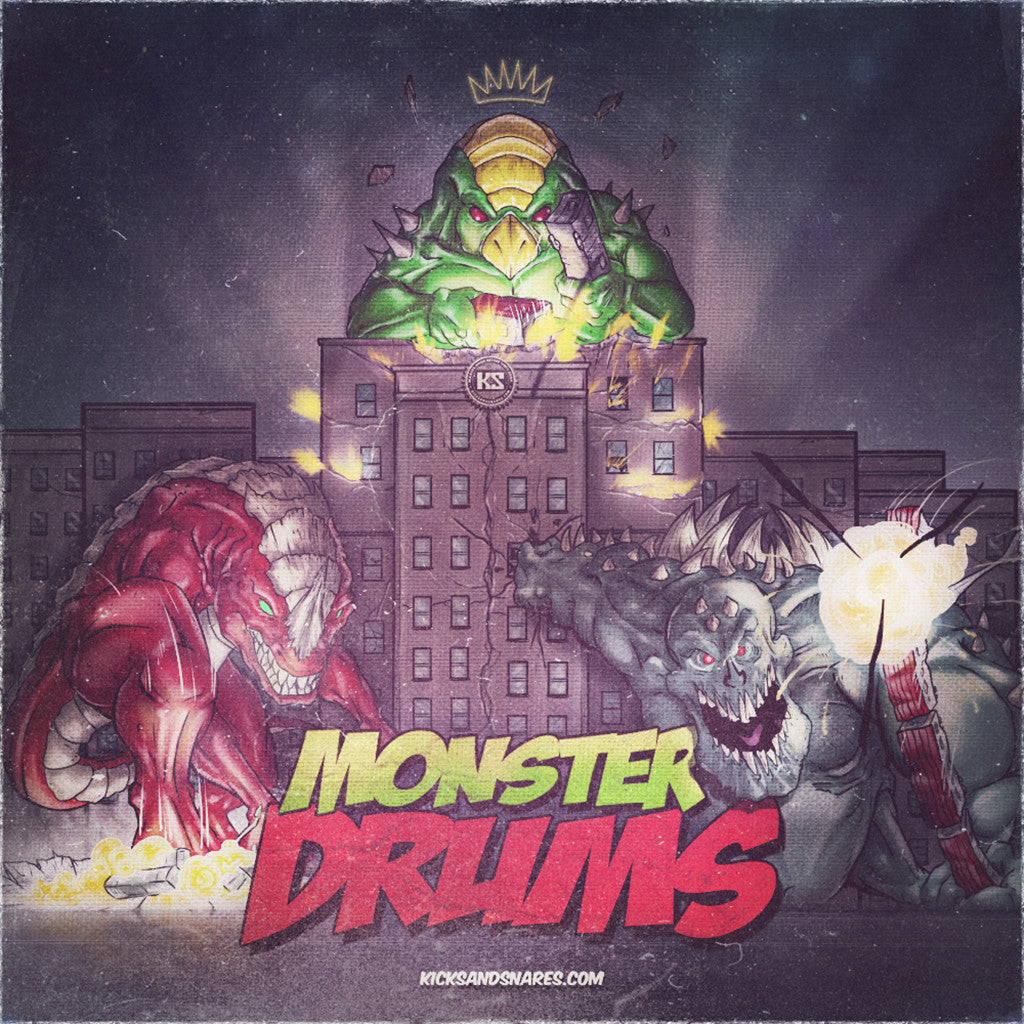 Monster Drums Bundle