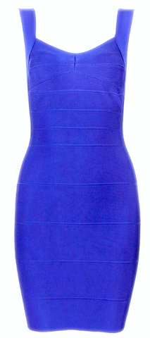 Selena Backless Bandage Dress - More Colors
