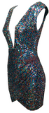 Arcadia Multi-color Sequined Dress - More Colors