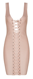 Karesse All Tied Up Bandage Dress - More Colors