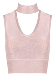 Choker Bandage Crop Top - More Colors
