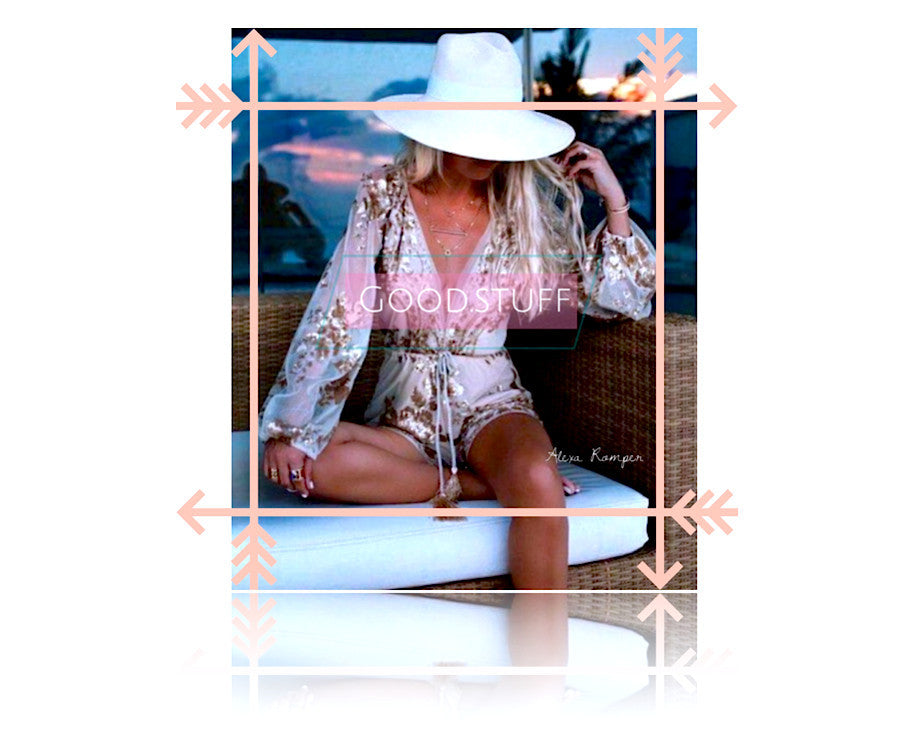raw glitter womens clothing rompers playsuits jumpsuits jumpers alexa sequined long sleeve romper pink