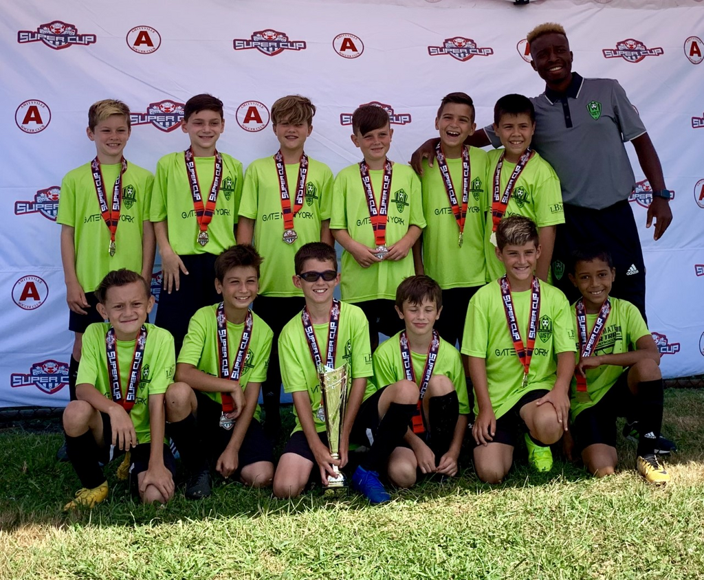 Congratulations to our B2009 Dix Hills UST Destroyers for winning the Amityville Super Cup Tournament!!