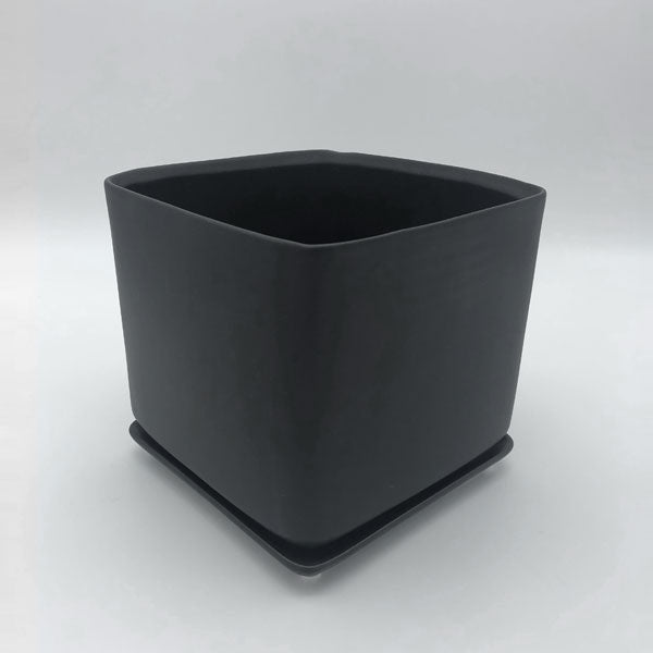 Square Pot with Dish
