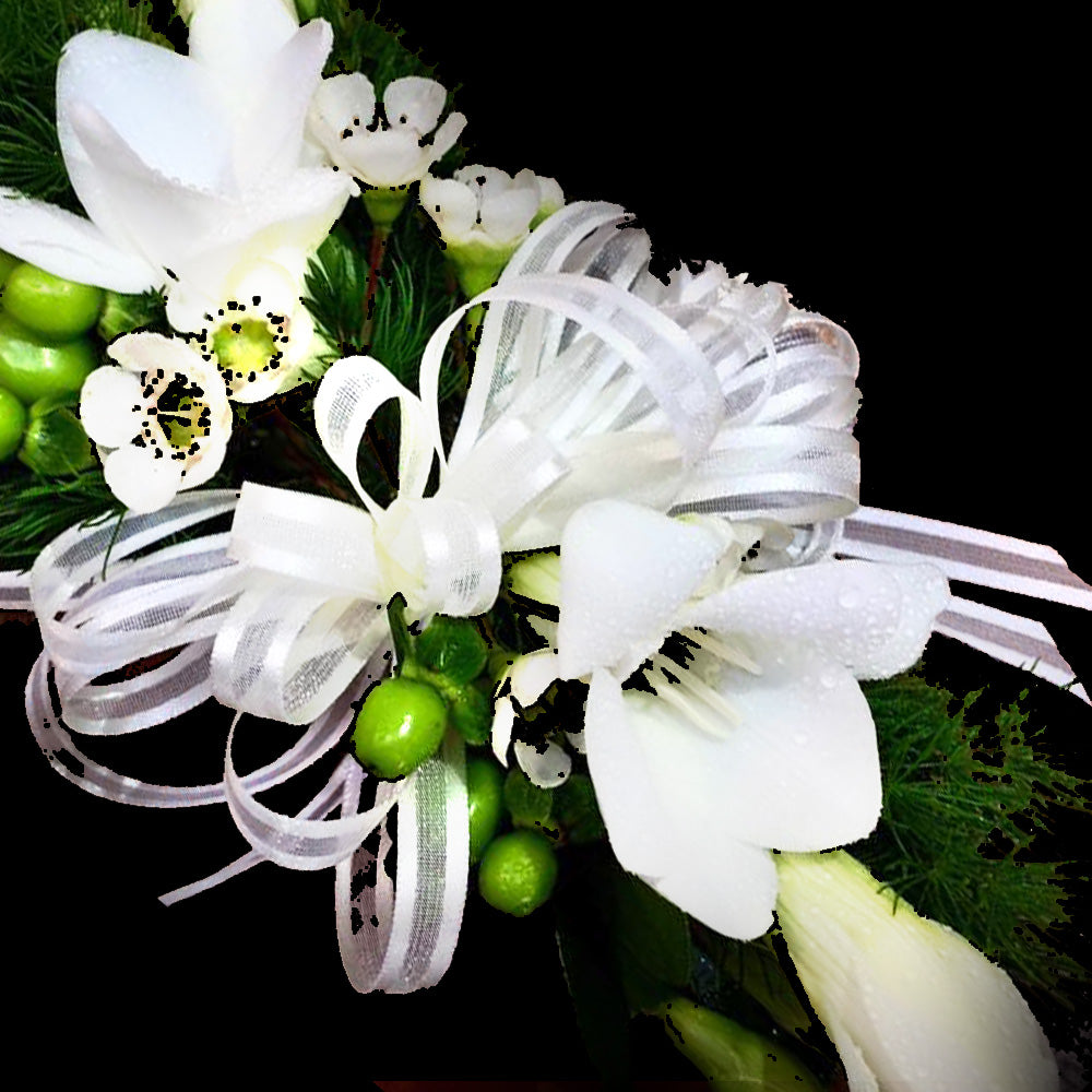 Wrist Corsage with Freesia