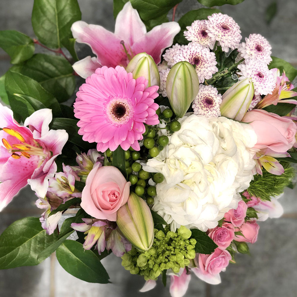 Light Pink and White Mix Bouquet