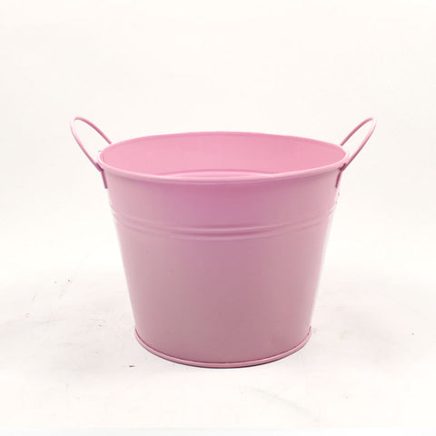 FETIN Plain Tin Pot with Handle