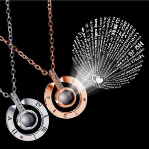 I Love You in 100 Langauages Necklace