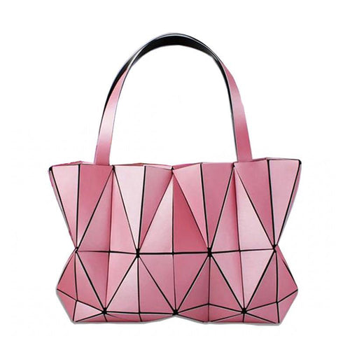 Luminous Geometry Shoulder Bags