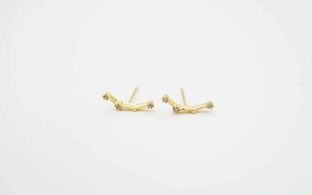 Arion Aquarius earring gold