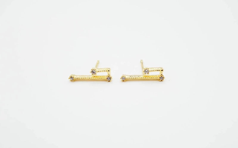 Arion jewelry aries earrings gold plated