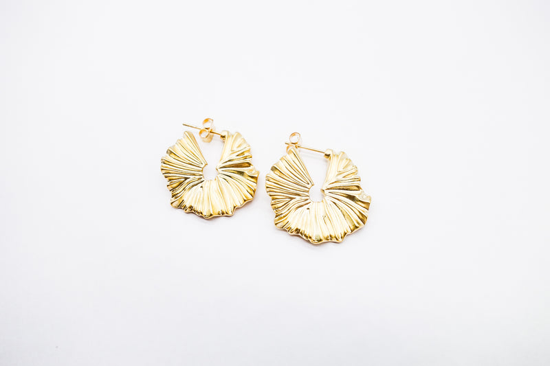 arion jewelry matte gold