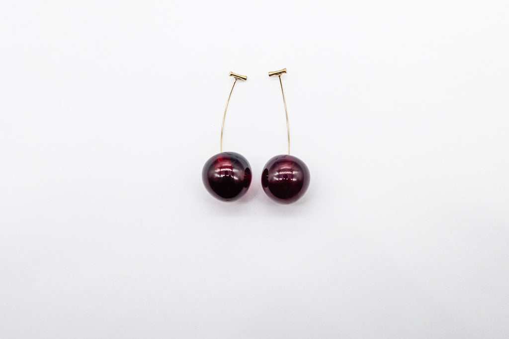 arion cherry earrings