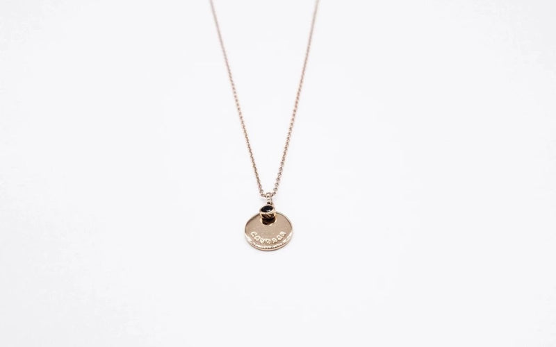 arion jewelry rose gold necklace