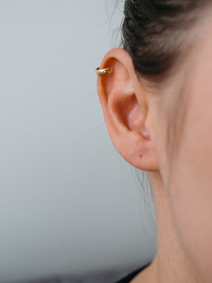 arion jewelry gold ear cuff