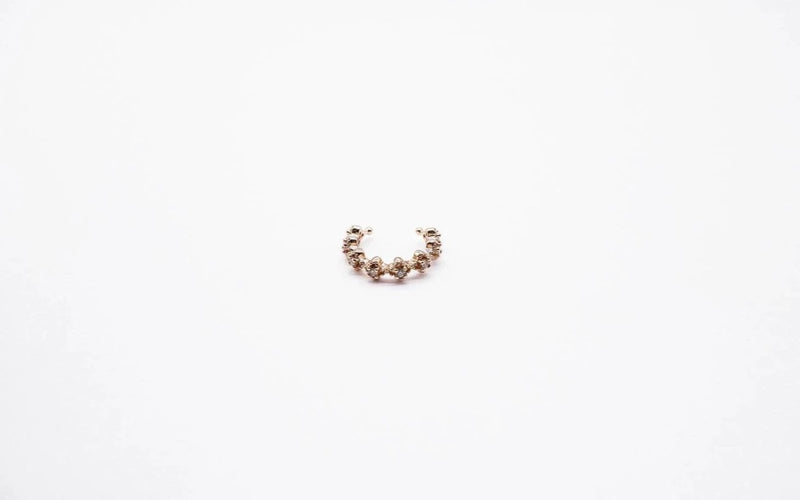 arion rose gold ear cuff