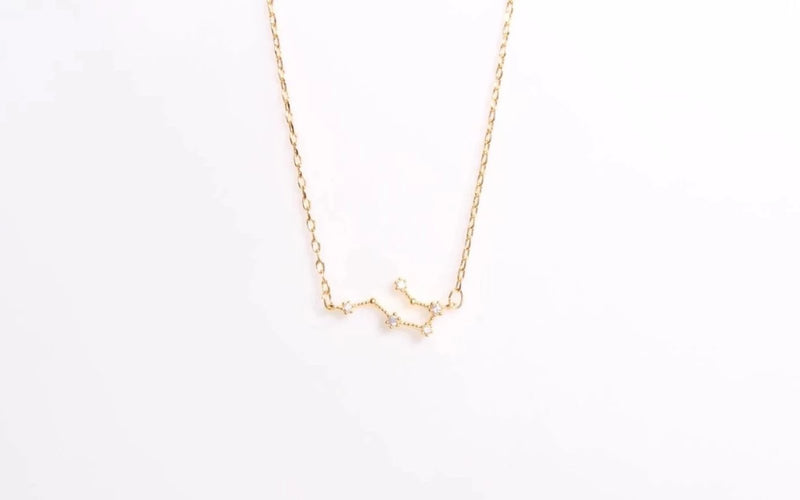 Arion jewelry gemini necklace gold plated