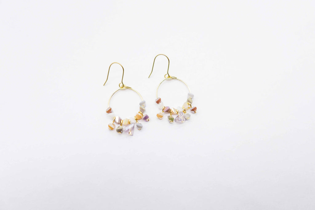 arion sand earrings