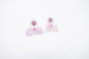 HydrangeaPink arion jewelry earring