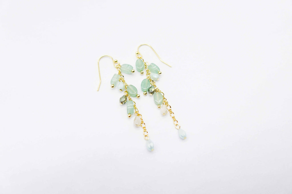 arion green earrings buy online