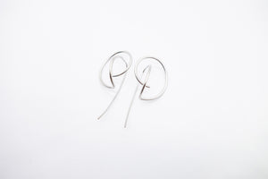 arion silver earring