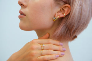 arion ear cuff gold plated
