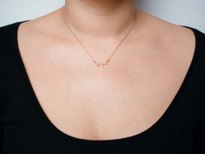 Sagittarius Necklace Nov 22. - Dec 21.
