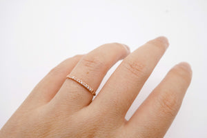 arion jewelry rose gold ring