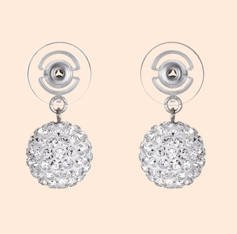 Diamante Teardrop Earrings - J1430902