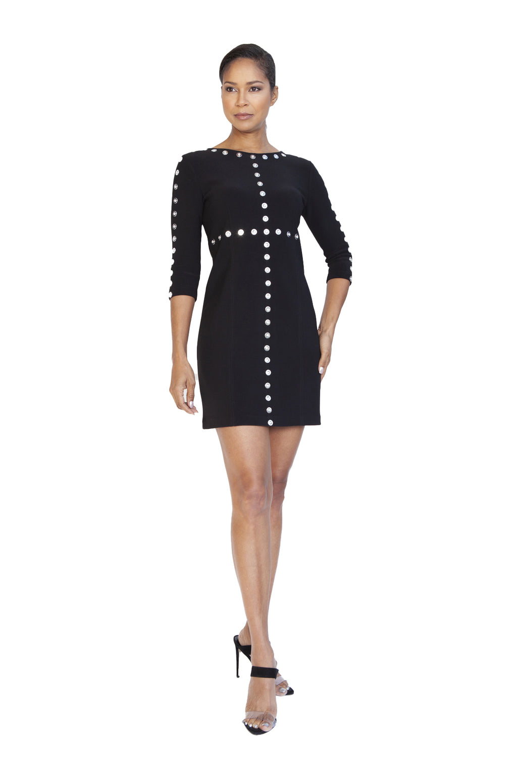 Super Stretch Grommet Dress - W1491006