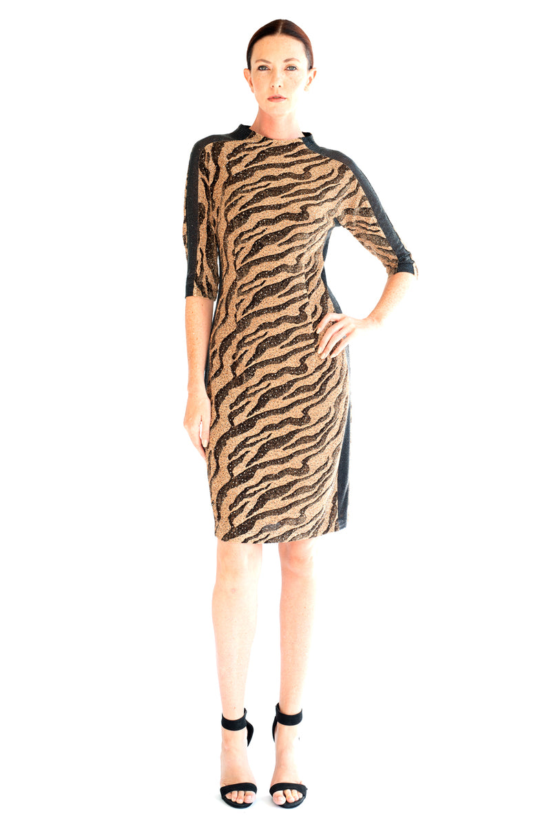 Stardust Zebra Dress - W1491011