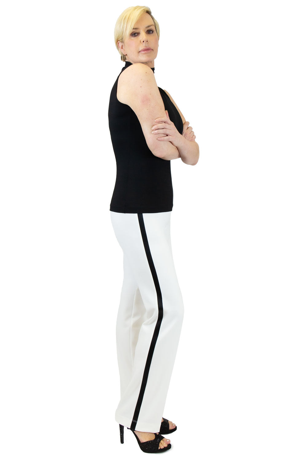 Slim Stretch Crepe Tux Pant - W4500309