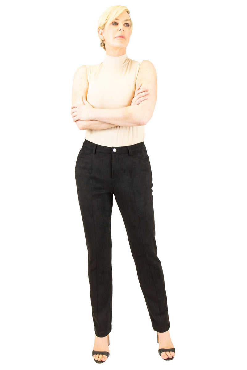 Faux Suede Classic Pant - W4500602