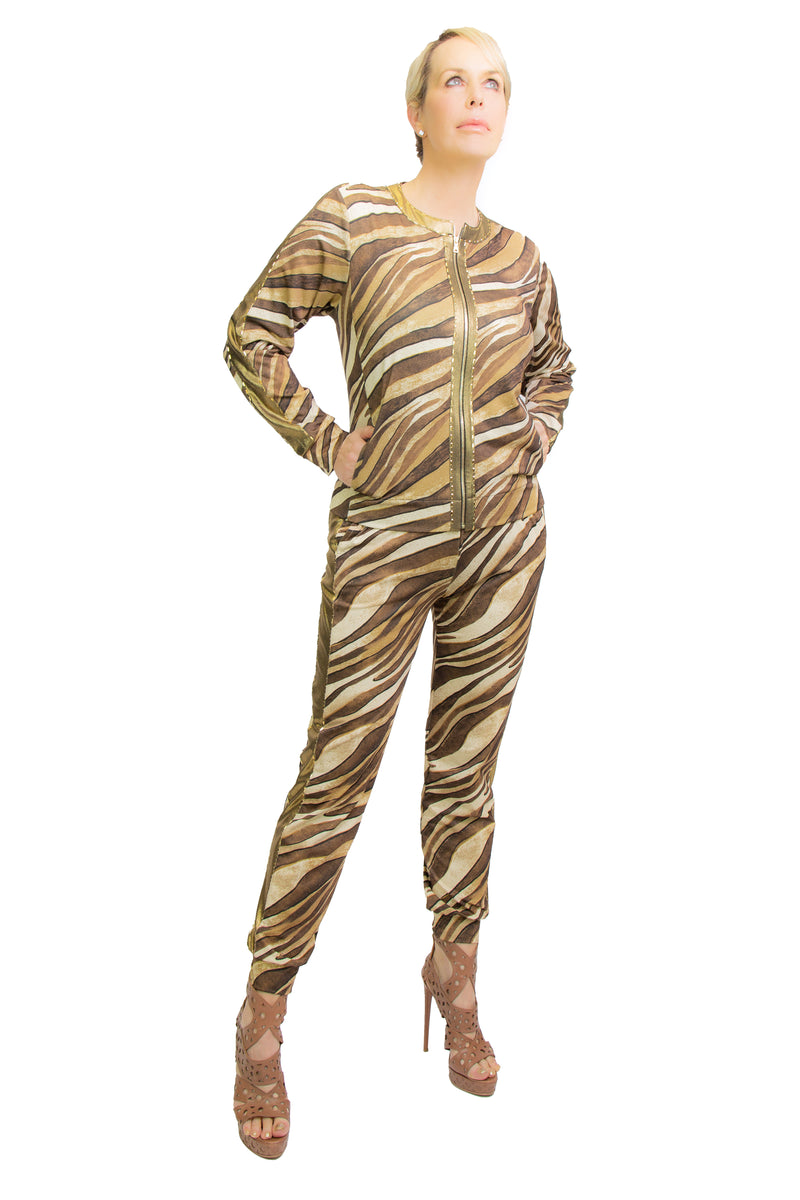 Golden Tigress Bomber Jacket - W2501203