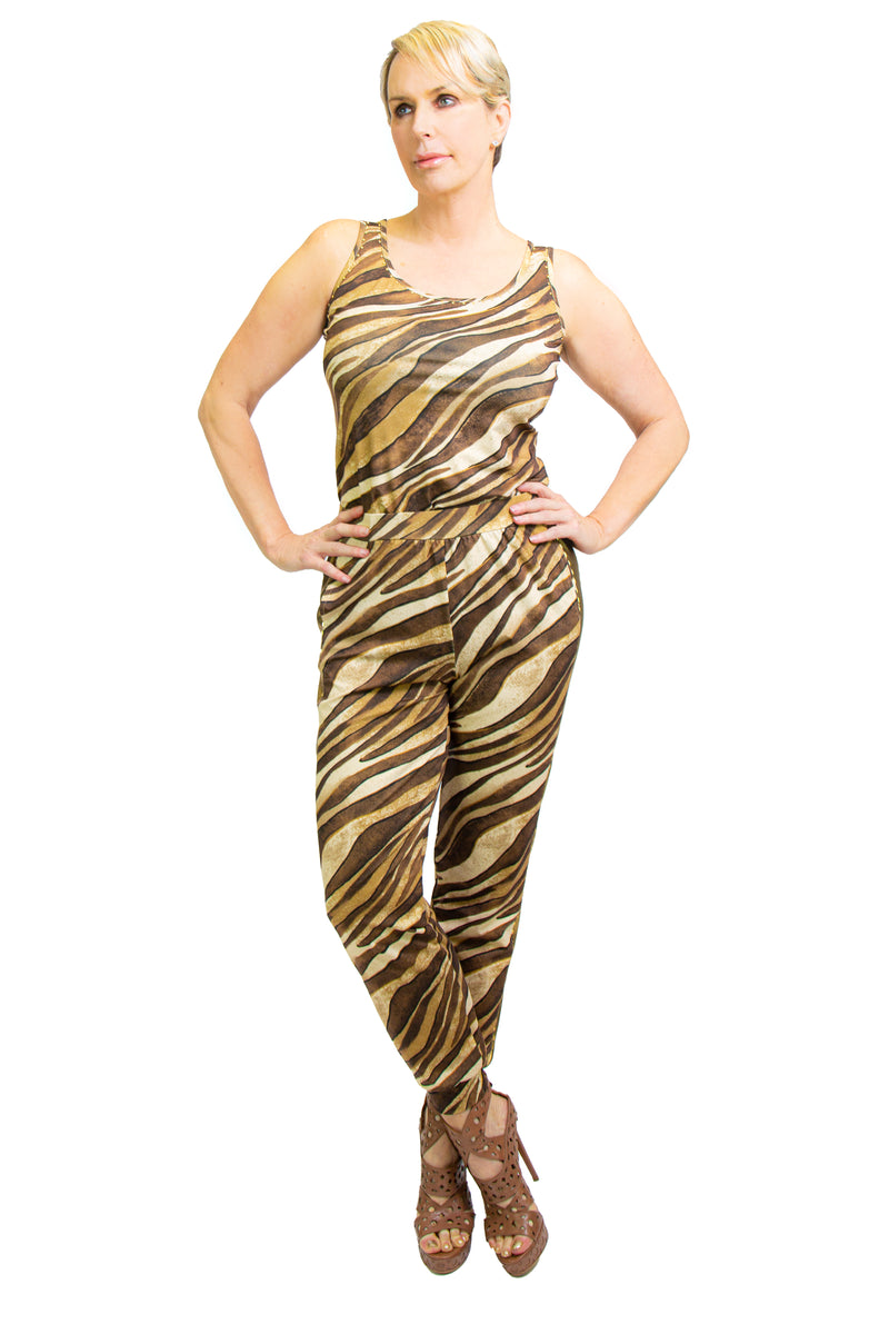 Golden Tigress  Yoga Tank - W8501201